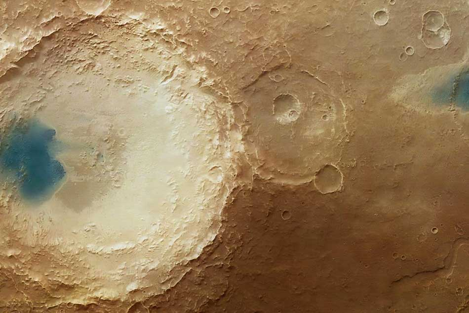 Martian-skin